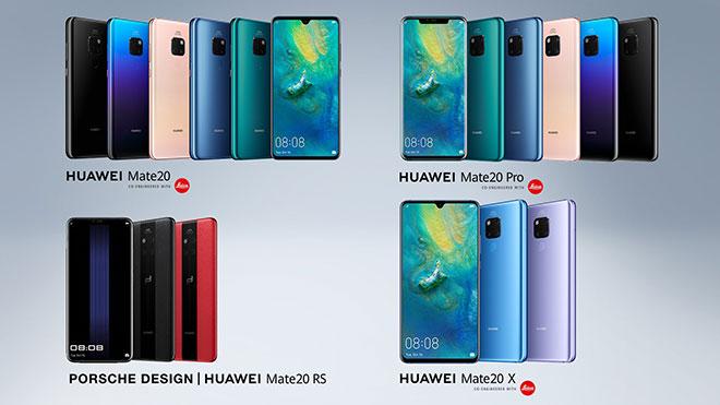 Huawei Mate 20 EMUI 9.1