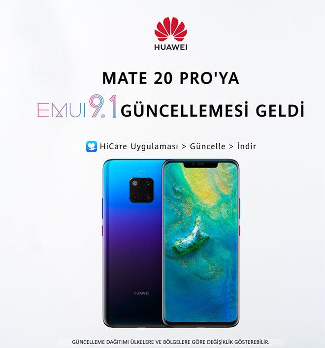 Huawei Mate 20 Pro EMUI 9.1