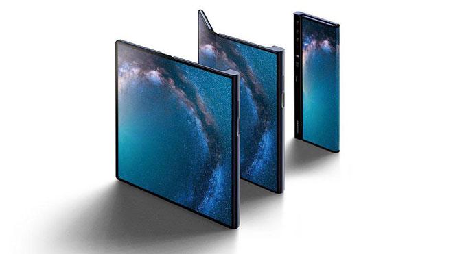 Huawei Mate X Samsung Galaxy Fold katlanabilir telefon