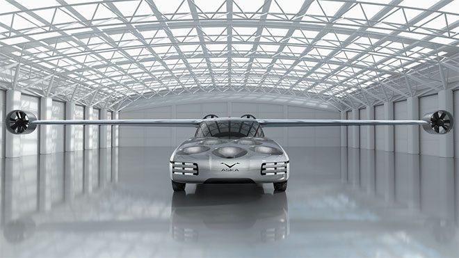 Aska uçan otomobil