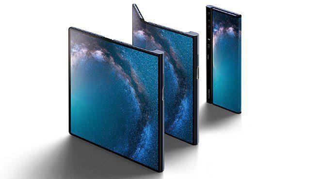 Katlanabilir telefon Huawei Mate X PUBG Mobile