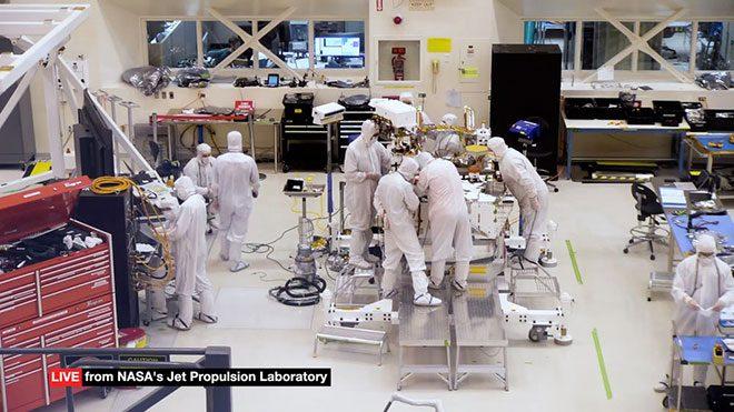 NASA Mars 2020 uzay aracı
