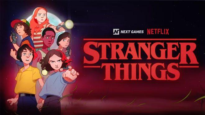 Netflix iş birliğinde stranger things oyunu