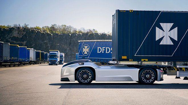 Volvo sürücüsüz kamyon Vera