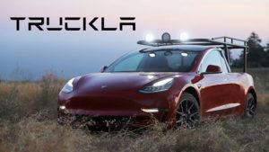 Tesla Model 3 Truckla