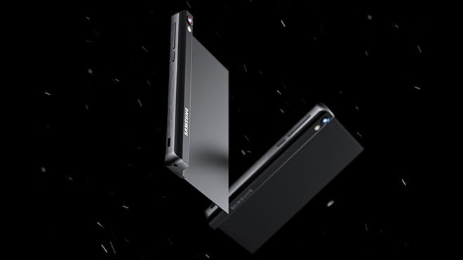 Uçuk katlanabilir telefon Samsung Galaxy Stick [Galeri] - LOG