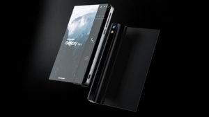 Katlanabilir telefon Samsung Galaxy Stick