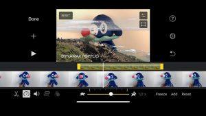 iMovie video düzenleme