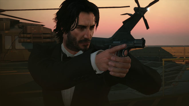 Keanu Reeves şimdi de Metal Gear Solid V