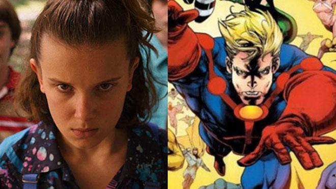 Stranger Things yıldızı Millie Bobby Brown Marvel filmi The Eternals için açıklama yaptı