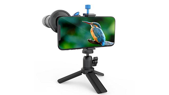 akıllı telefon telefoto lens