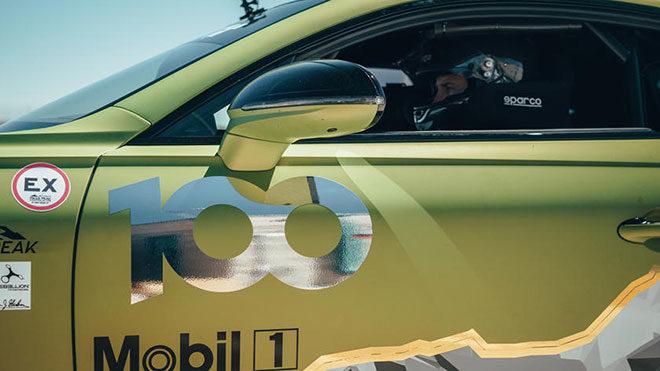 Bentley Continental GT ile gelen büyük Pikes Peak rekoru