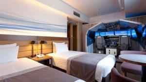 Boeing 737-800 otel odası