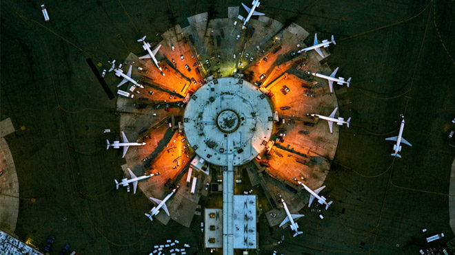 Newark Havaalanı 11 Terminal A Jeffrey Milstein, ABD
