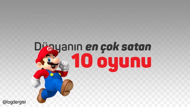 Dünyanın en çok satan 10 oyunu