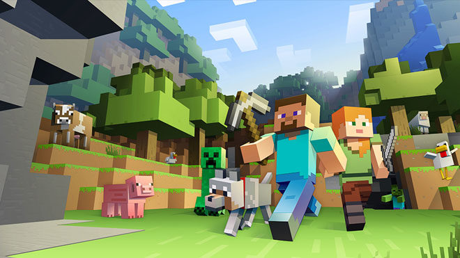 Dünyanın en çok satan 10 oyunu Minecraft