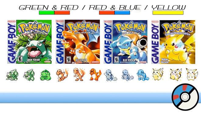 Dünyanın en çok satan 10 oyunu Pokemon Red/Blue/Green/Yellow