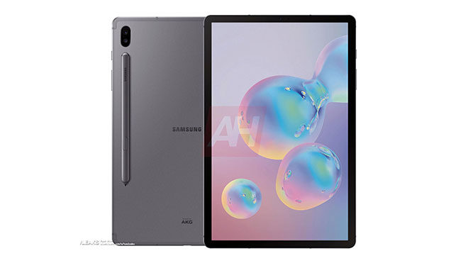 Samsung Galaxy Tab S6 android tablet