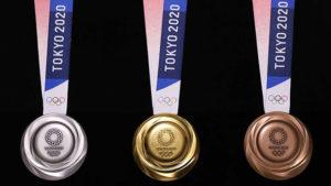 2020 Tokyo Olimpiyat Oyunları madalya