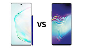 Samsung Galaxy S10 Samsung Galaxy Note 10