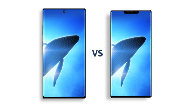 Samsung Galaxy Note 10 vs Huawei Mate 30 Pro