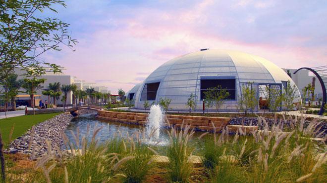 LG HVAC çözümü kullanan sürdürülebilir akıllı şehir
