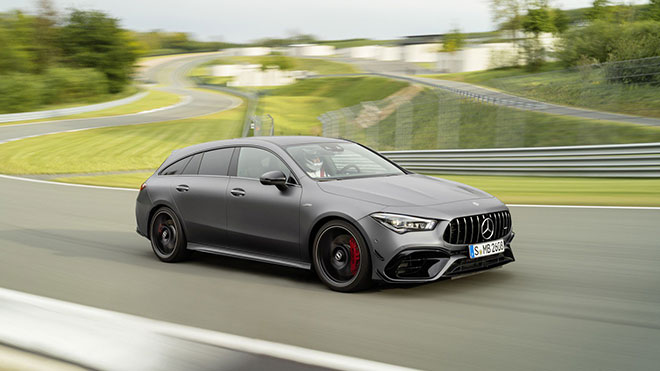 Mercedes-AMG CLA 45 Shooting Brake