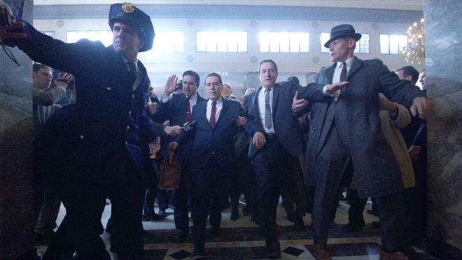 Netflix filmi The Irishman Robert De Niro ve Al Pacino