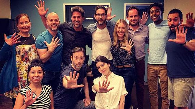 Netflix Lucifer 5. sezon yazar odası
