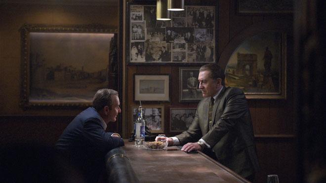 Netflix The Irishman Robert De Niro Al Pacino ve Joe Pesci'li fragman