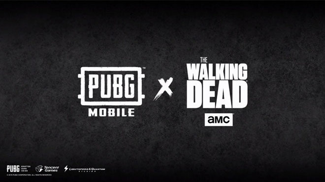 PUBG Mobile The Walking Dead iş birliği
