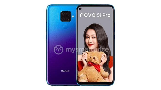 Huawei Mate 30 nova 5i Pro