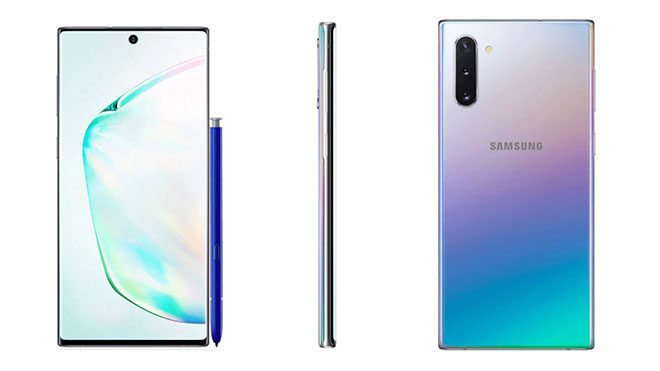 Samsung Galaxy Note 10 vs Samsung Galaxy Note 10+
