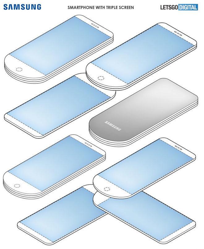 Samsung akıllı telefon tasarım