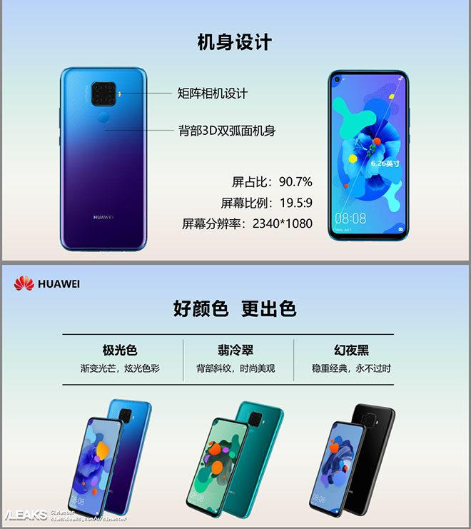 Huawei Nova 5i Pro (Mate 30 Lite)