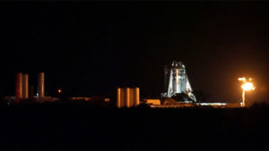 SpaceX Starhopper Spaceship