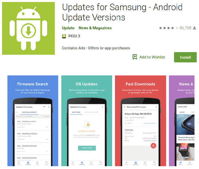 Samsung Play Store Android