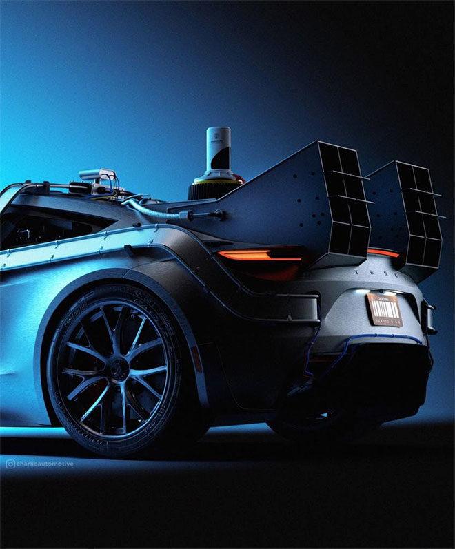 Tesla Roadster Geleceğe Dönüş Delorean SpaceX Elon Musk