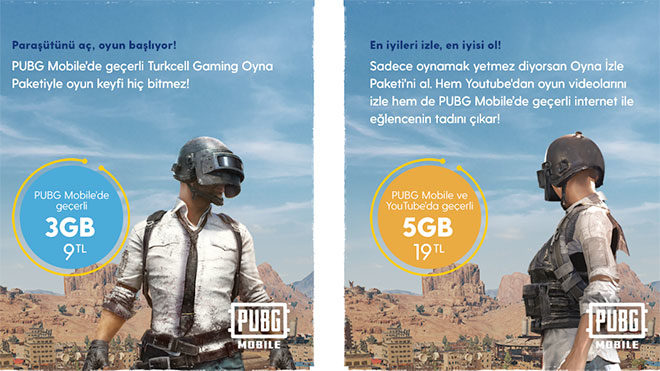 Turkcell PUBG Mobile