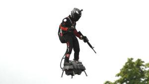 Franky Zapata uçan asker