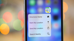 2019 iPhone 3D Touch