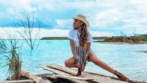 Instagram çılgınlığında bugün; zehirli atık gölünde selfie keyfi