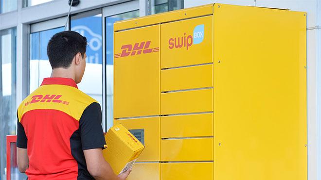 DHL SwipBox Akıllı kargo dolabı