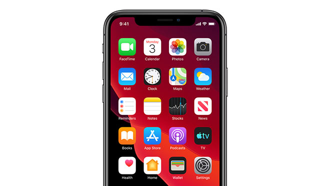 Apple iOS 13 iPhone