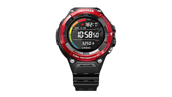 Casio WSD-F21HR akıllı saat