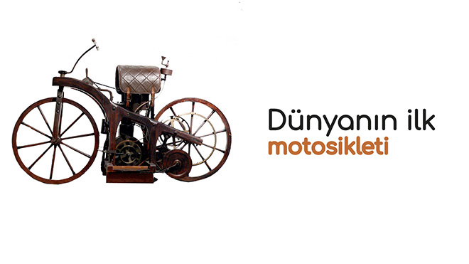 Üretilen ilk buharlı motosiklet