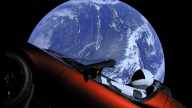 Tesla Roadster Starman