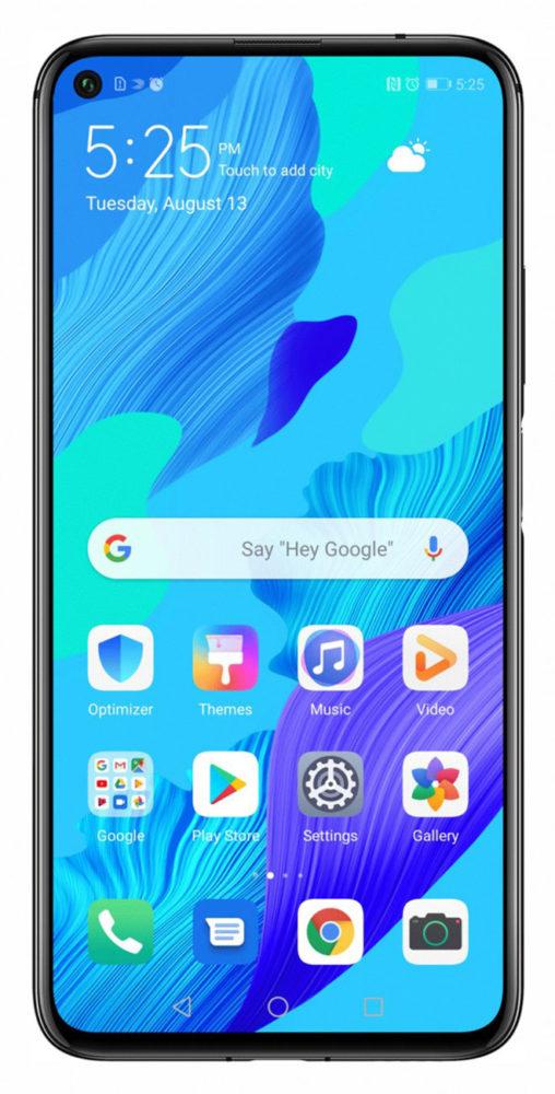 Google Huawei nova 5T