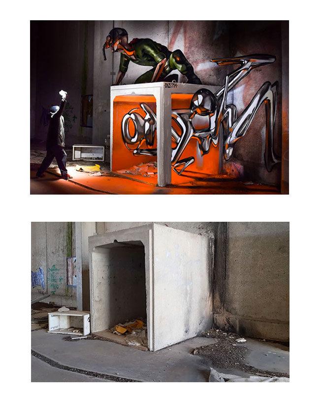 grafiti sanatçısı