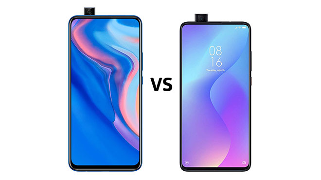 Huawei Y9 Prime 2019 vs Xiaomi Mi 9T